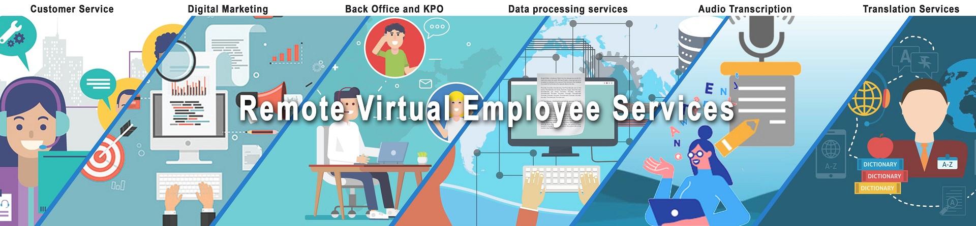 Remote Virtual Employee Services
